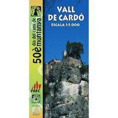 Vall de Cardó [Document cartogràfic]. Barcelona : Piolet, DL 2014
