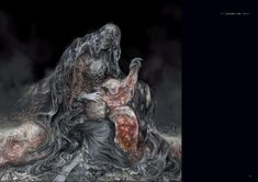 Post with 1087 votes and 78171 views. Shared by Tonguetyd. Dark Souls Characters, Monster Characters, Dark Blood, Old Blood, Soul Game, Dark Souls Art, Horror, Monster Design, Creature Design