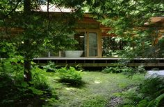 Projets « Atelier Pierre Thibault Architecture Details, Houses, Cabin, House Styles, Home Decor, Woods, Gardens, Stone, Minimalist
