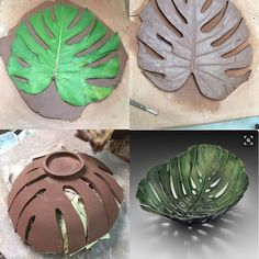 Rustic serving bowls made from antique crocheted doilies impressions in the sides.Resultado de imagen para clay pottery ideas for beginnersPin by Karen Efthemes on Pottery slab workCreative clay bowl using a p Hand Built Pottery, Slab Pottery, Pottery Bowls, Ceramic Pottery, Pottery Art, Thrown Pottery, Pottery Studio, Pottery Gifts, Pottery Painting