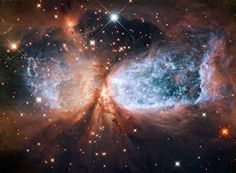 Hubble Captures Violent Birth Pangs of Enormous Star!