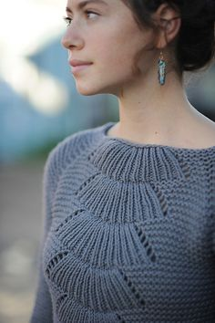 Camilla Pullover pattern by Carrie Bostick Hoge//