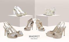 ...Un zapato especial para un día especial... Magrit Bridal Collection, el comienzo de una nueva etapa de tu vida donde los pequeños detalles son los que marcan la diferencia. http://bit.ly/18xCHFD ... A special shoe for a special day ... Magrit Bridal Collection, the beginning of a new stage of your life where the small details make the difference. http://bit.ly/1C1vhXC