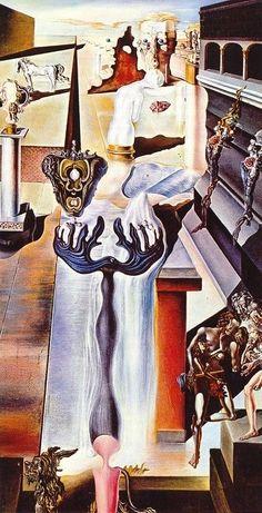 Salvador Dali- Invisable Man