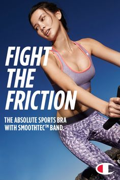 8fbdb779027e3 The Sports Bra. Invented by us. Perfected for you.
