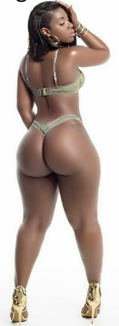 Black girl thong
