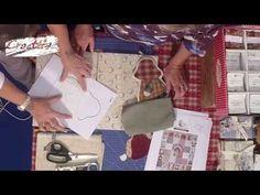 VIDEO #CreattivaChannel Allegre applicazioni in tessuto con Laura Mori - YouTube
