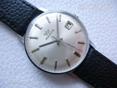 Gyönyörű elegáns dátumos MARVIN a 60-as évekből! - 1 Ft - Nézd meg Te is Vaterán - Antik férfi karóra - http://www.vatera.hu/item/view/?cod=2197406873