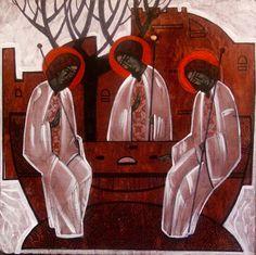 Holy Trinity (contemporary) Anna Kolisnyk