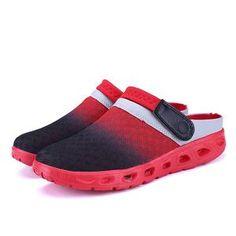 860830f0fba Men Summer Sandals Breathable Mesh Sandal Summer Beach mens Shoes Wate –  Condor Egypt Fashion Slides