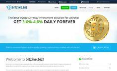 Подробнее о проекте читайте перейдя по ссылке ниже Bitzine #hyip #хайп #hyipzanoza #новыйхайп #инвестиции
