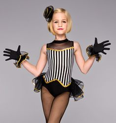 """Showgirl"" Bustle Leotard - Style No TH2031C"