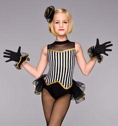 """Showgirl"" Bustle Leotard - Style No TH2031C"