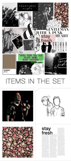"""""""Happy birthday Tyler Joseph!"""" by iamgl2002 ❤ liked on Polyvore featuring art"""