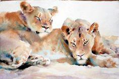 Hazel Soan Google Image Result for http://www.spencerscotttravel.com/uploads/textareas/image/painting/Hazel-Soan-lions.jpg