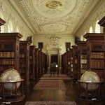 Queen's College Library, Oxford University, Oxford, UK