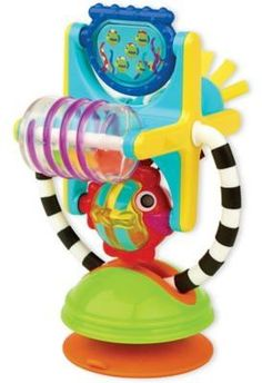 The Fishy Fascination Station offers visual stimulation for your newly curious young one. A spinning Ferris Wheel filled with colorful beads makes noise as your baby shakes and bats. The chewable handle has different textures ideal for teething. Baby Bath Seat, Bath Seats, Baby Bats, Developmental Toys, Different Textures, Baby Play, How To Make Beads, Toddler Toys, A Table