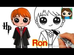 How to Draw Ron Weasley Easy | Harry Potter - YouTube