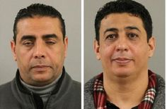 Rapist hassan ibrahim, left, and rapist salim salem, the products of inbreeding.
