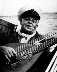 Evert Taube, Swedish composer and poet