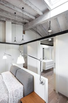 An Old Rustic Style House renovated with a modern touch by Dom Arquitectura in Barcelona Home Renovation, Home Interior Design, Interior Architecture, Design Moderne, Rustic Style, Small Spaces, Living Spaces, House Design, Home Decor