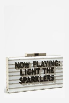 Just received this as a gift from a dear friend! Kate Spade Clutch, Sparklers, Dear Friend, Music Instruments, My Style, Gifts, Presents, Party Sparklers, Musical Instruments