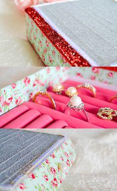 DIY Ring Box Guest Post | A Bubbly Life: DIY Ring Box Guest Post