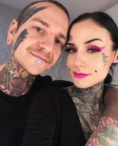 Monami Frost and her husband ❄️