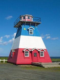 Hay Island #Lighthouse - Neguac, Northumberland County, New Brunswick. #Canada…