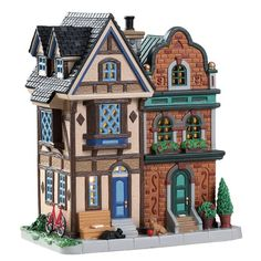 Make 2018 a year to remember with the latest Lemax holiday village collectables. Start a family Christmas tradition with Lemax Village Collection today! Christmas Tree Village, Christmas Villages, Family Christmas, Christmas Ideas, Lego City, Villas, Lemax Village, Light Building, Dollhouse Kits