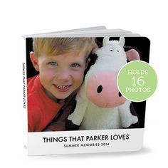 Simple Photo board Book  make it with your photos