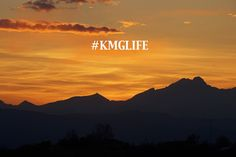 It's truly a lifestyle - taken looking towards Boulder, CO. #KMGLIFE