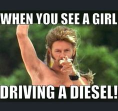 Funny Diesel Truck Memes at Diesel Tees- Apparel for truck enthusiasts… Truck Memes, Car Memes, Dodge Trucks, Lifted Trucks, Dodge Cummins, Diesel Quotes, Jeep Humor, Joe Dirt, Rolling Coal