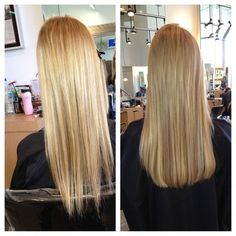 Hair Extensions before and after-by Roseli Simonetti | Yelp