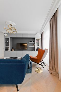 Apartment In Vilnius By Indre Sunklodiene | HomeAdore Wall Unit Designs,  Luxury Modern Homes,
