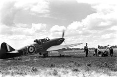 Not originally published in LIFE. Scene during the Battle of Britain, RAF Fighter Command airfield, Navy Aircraft, Aircraft Photos, Ww2 Aircraft, Fighter Aircraft, Fighter Pilot, Fighter Jets, Battle Of Britain, Royal Air Force, Military History