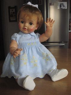 1960 s Vintage Ideal Betsy Wetsy Doll Large Playpal Size 23 in #Dolls