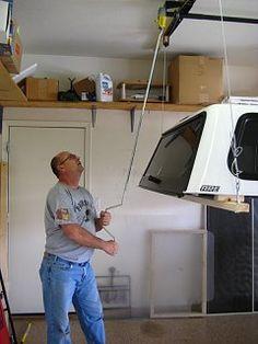 Camper Storage, Diy Camper, Garage Storage, Truck Storage, Box Storage, Storage Ideas, Truck Shells, Truck Camper Shells, Motorhome Interior