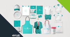 Tonya Fast Food Brand Design    http://dotuid.com/project/tonya/#prettyPhoto