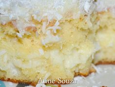 Vanilla Cake, Ice Cream, Cream Cake, Good Food, Food And Drink, Favorite Recipes, Lunch, Desserts, Cakes