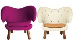finn juhl pelican chair.