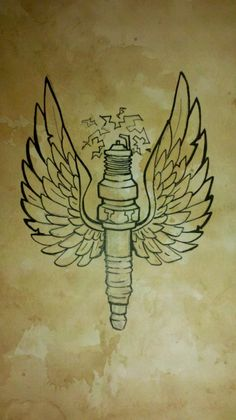 spark plug tattoo - Google Search
