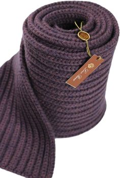 LORO PIANA PURPLE CASHMERE SCARF-MADE IN ITALY #LOROPIANA #Scarf