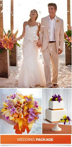 Your Wedding, Your Way!  Many Destination Wedding Themes in the Caribbean at Sandals Resorts