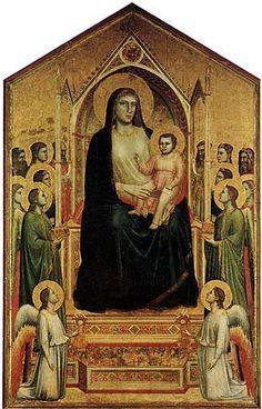 Giotto - Madonna d'Ognissanti - 1310 ca. - Firenze - Galleria degli Uffizi