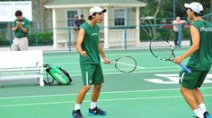 Men's Tennis Clinches #3 Seed With Win Over FGCU
