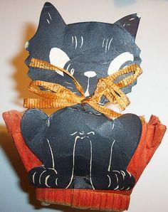 Vintage Halloween Nut Cup  -Kathy H