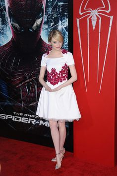 Emma Stone and Andrew Garfield at Spider-Man premiere