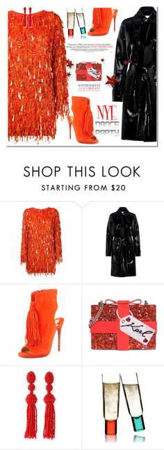 """dance all night long"" by katymill ❤ liked on Polyvore featuring Ashish, Carven, Christian Louboutin, Karl Lagerfeld, Oscar de la Renta, Sagaform and Celestine"