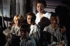 #TBT to Road to Avonlea Season 7 - Felicity and the children at the Foundling Home.